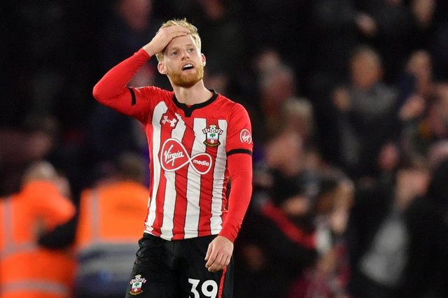 Released Southampton winger Josh Sims.  Picture: Mullan/Getty Images