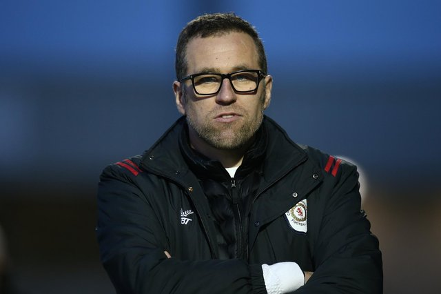 Crewe Alexandra manager David Artell. Picture: Pete Norton/Getty Images