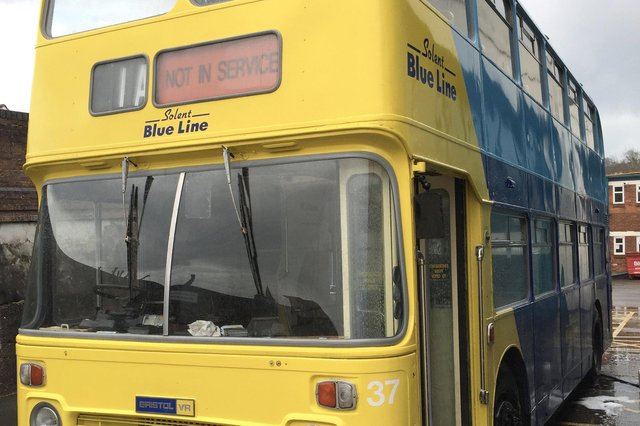 EXAM NERVES: Rick Jackson's bus