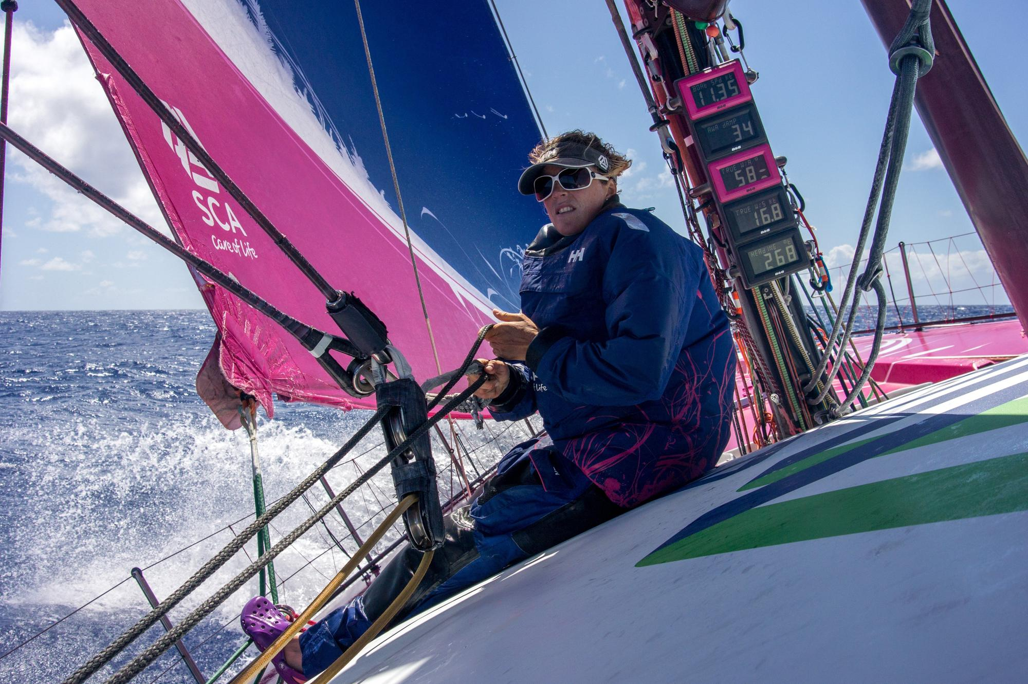 Portsmouth-born Davies' Vendée Globe has been put into doubt after 'violent' collision