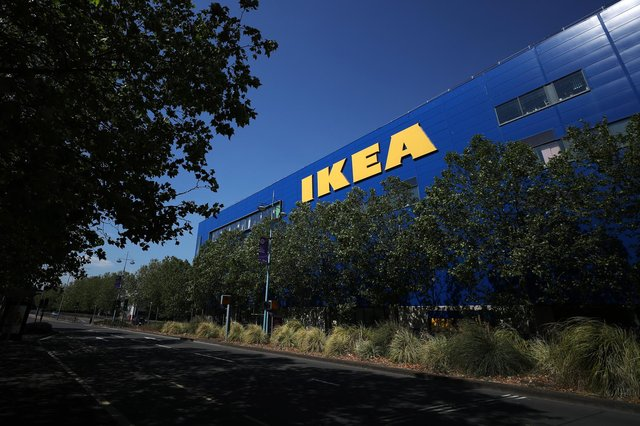IKEA home furnishing store in Southampton. Picture: Naomi Baker/Getty Images