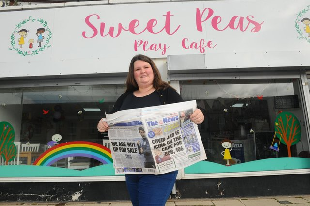 Claire White, of Sweet Peas Play Cafe in Fareham