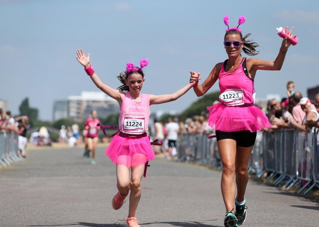 2018 Race For Life, Southsea Common. Picture: Chris Moorhouse