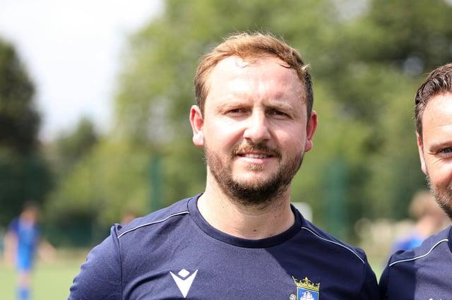 Baffins Milton Rovers boss Shaun Wilkinson. Picture: Chris Moorhouse (080820-18)