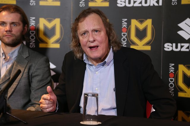MK Dons chairman Pete Winkleman. Picture: Pete Norton/Getty Images