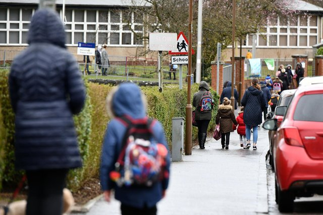 With children set to return to the classroom next week, an education expert from the University of Portsmouth has been giving her top tips to help parents support their children with the transition. Picture: Michael Gillen