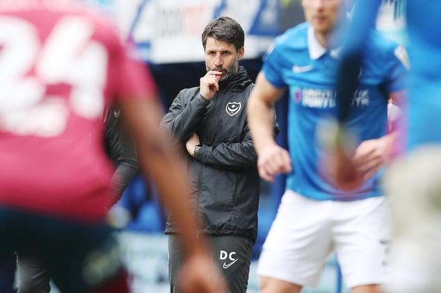 New Pompey head coach Danny Cowley