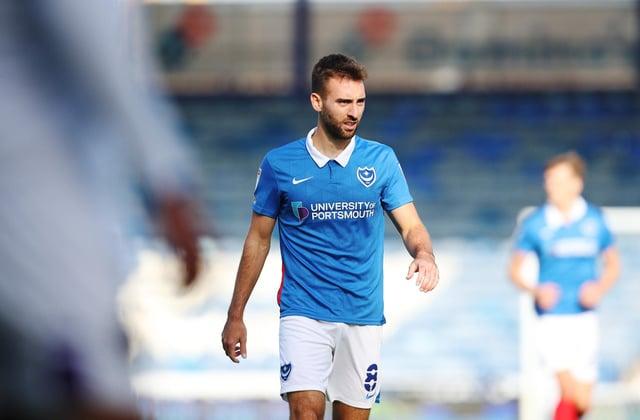 League Division 1 - Portsmouth vs Shrewsbury  Town - 12/09/2020Portsmouth's Ben Close