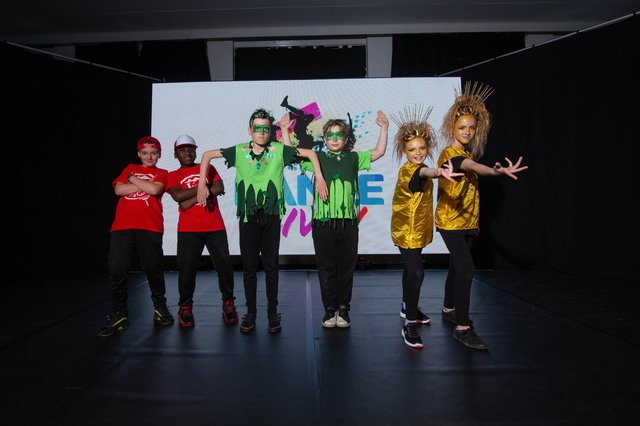 A film crew from Dance Live is visiting Rowner Junior School to record some of the pupils performance on 20 May 2021Pictured: Pupils of Rowner Junior School, Gosport dancingPicture: Habibur Rahman