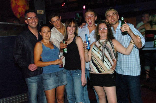 Revellers having a good time at Time & Envy nightclub in Southsea. Picture: (063973-)