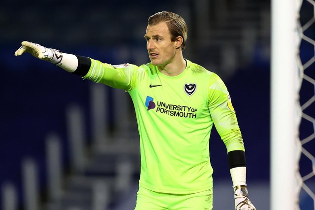 Former Pompey keeper Craig MacGillivray has signed for Charlton Picture: Bryn Lennon/Getty Images