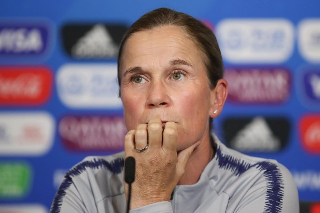 Former USA head coach Jill Ellis.  Picture: Alex Grimm/Getty Images