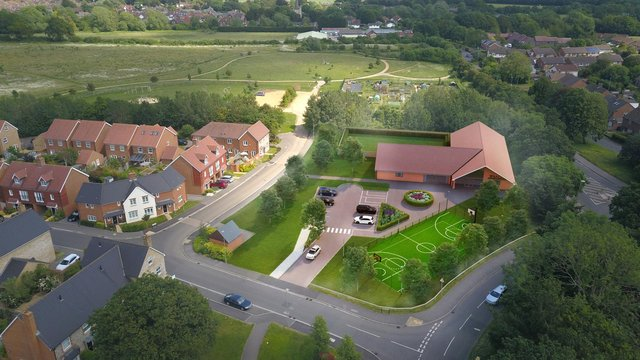 A different proposed design for YMCA Emsworth