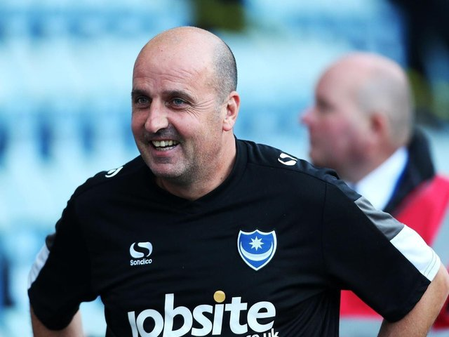 Paul Cook recruited Adam Barton for Pompey in June 2015 and the pair shared two pre-season tours