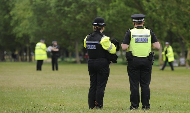 Heavy police presence in the run up to the D Day commemorations on Southsea Sea Front. Picture: Ian Hargreaves  (310519-1)