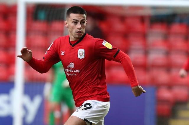 Crewe winger Owen Dale. Picture: Pete Norton/Getty Images