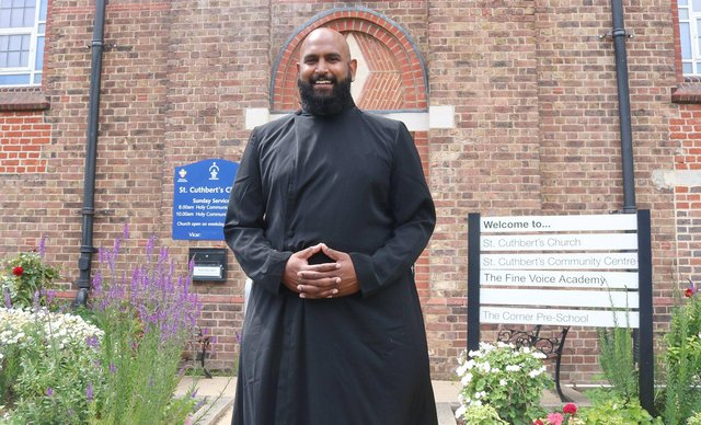 Rajiv Sidhu will become a curate at St Cuthbert's Church, Copnor