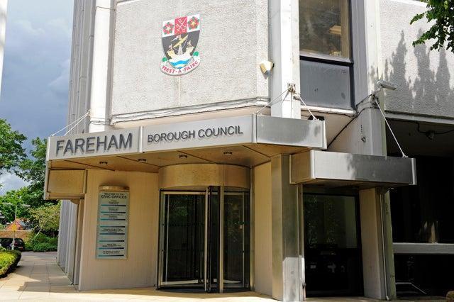 Fareham Borough Council offices.