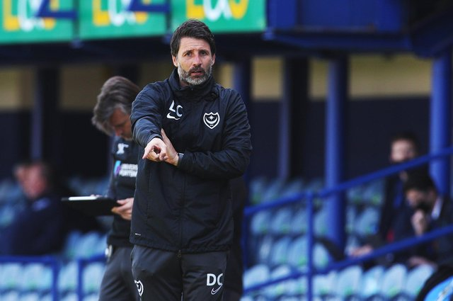 Danny Cowley will experience fans inside Fratton Park for the first time when Pompey host Peterborough in a pre-season friendly on  July 31.