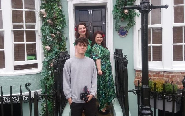 James Vine, Zoey Southwell, Rachel Cantrill-Dean at Becketts in Southsea