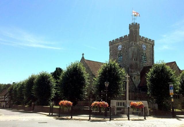 St Faith's Church in West Street, Havant. Picture: Robert Pragnell