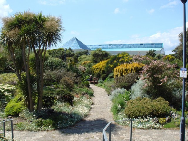 Southsea Rock Gardens, where a woman was flashed by a man earlier this month.