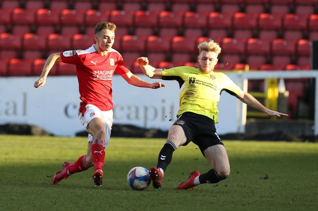 Scott Twine in action for Swindon (Photo by Pete Norton/Getty Images)