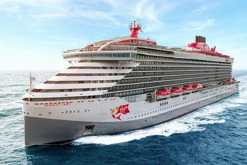 The new cruise ship, Scarlet Lady, set for Portsmouth in August