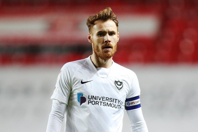 Tom Naylor is set to leave Pompey on a free transfer