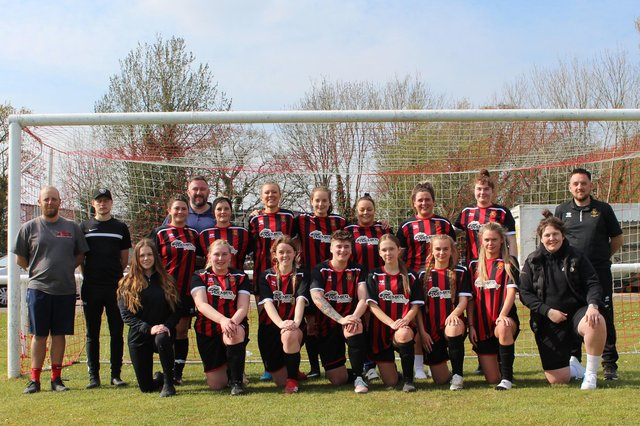The newly-reformed Fleetland's Women's team. Picture by Nathaniel Holland.