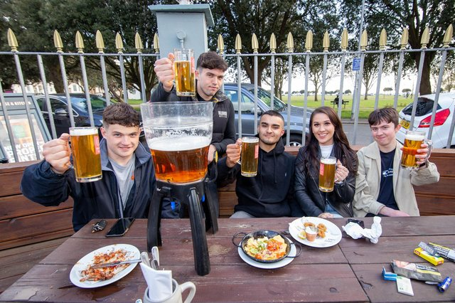 The reopening of venues like Brewhouse and Kitchen in Southsea has helped bring Portsmouth workers off furlough.  Picture: Habibur Rahman