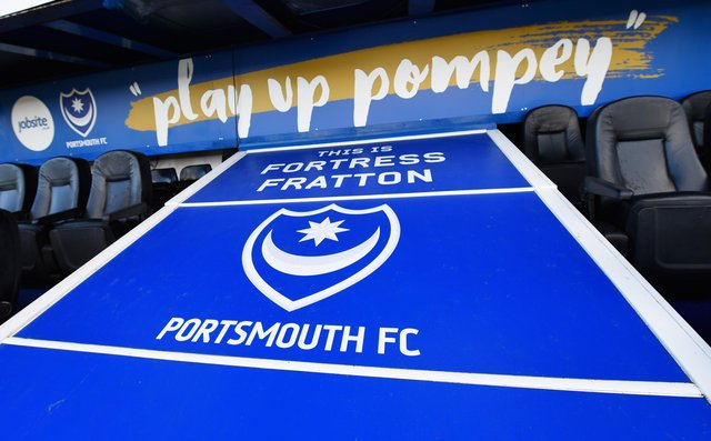 Pompey welcome Accrington to Fratton Park on Sunday.  Picture: Mike Hewitt/Getty Images