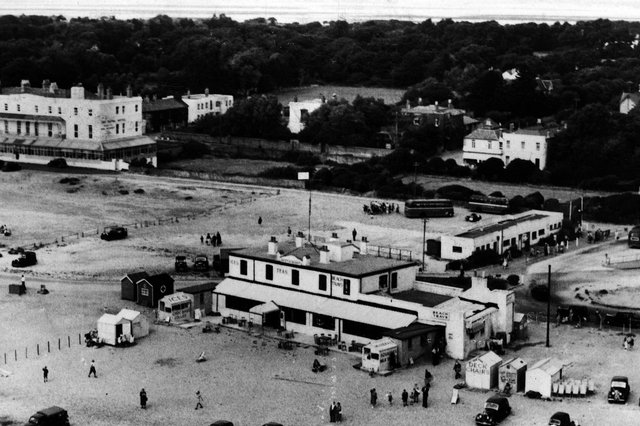 Beachlands, Hayling Island, in the 1950s. Picture: Paul Costen postcard collection.