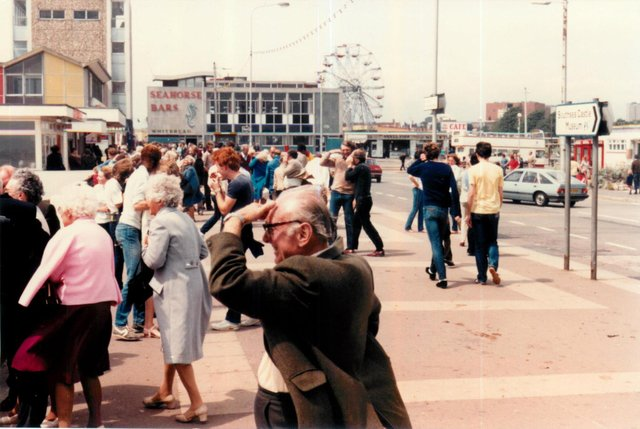 Clarence Pier in the 1980s captured by Steve Spurgin.