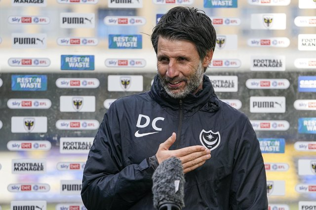 Danny Cowley knows Pompey's destiny is in their own hands going into the final day of the season