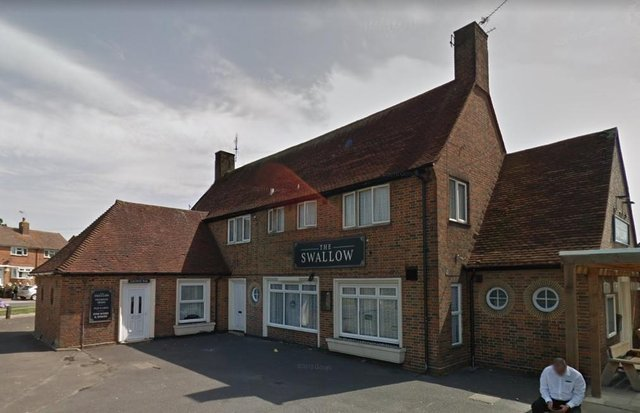 The Swallow pub in Dunsbury Way, Leigh Park. Picture: Google Maps