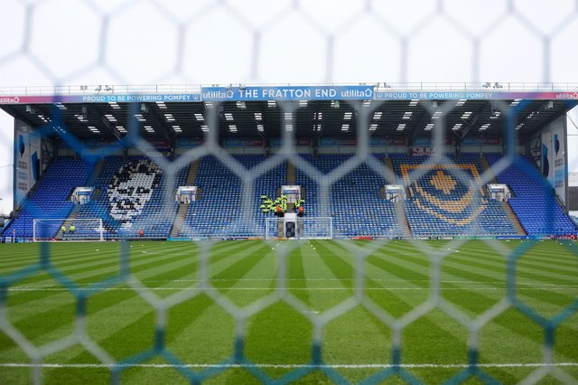 Football behind closed doors will put a huge strain on Pompey's finances.  Picture: Charlie Crowhurst/Getty Images