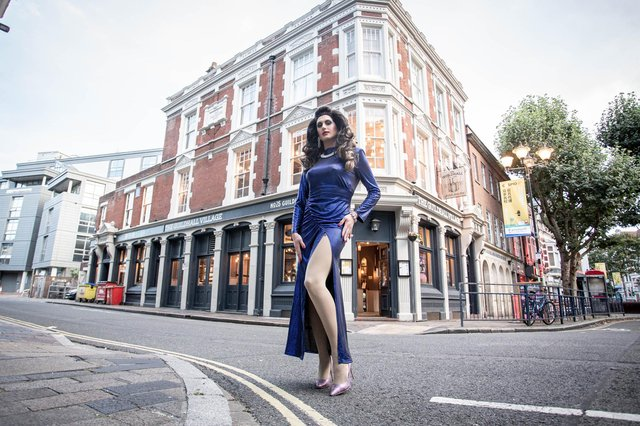 Danii Dior pictured in Guildhall Walk. Picture: Habibur Rahman