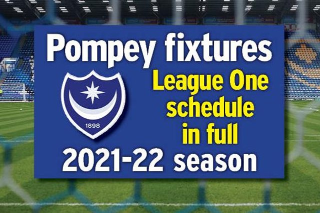 Pompey kick off the 2021-22 season at Fleetwood on Saturday, August 7.