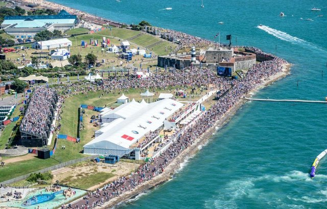 Crowds flock to the 2016 America's Cup World Series event in Southsea