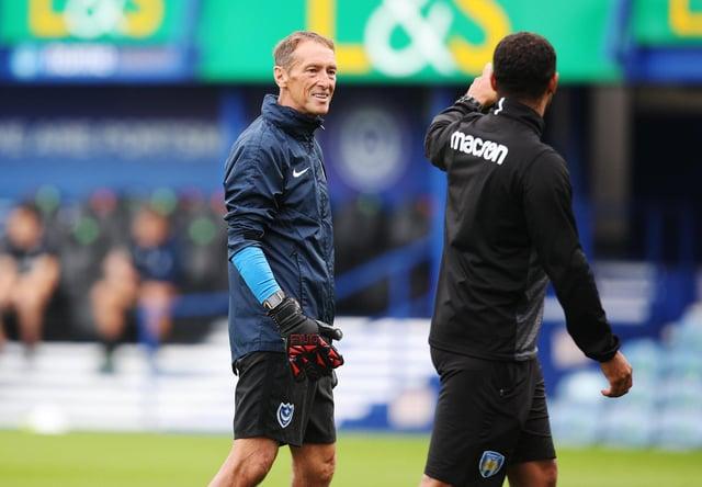 Long-serving goalkeeping coach John Keeley has left Pompey as Danny Cowley assembles his backroom staff. Picture: Joe Pepler