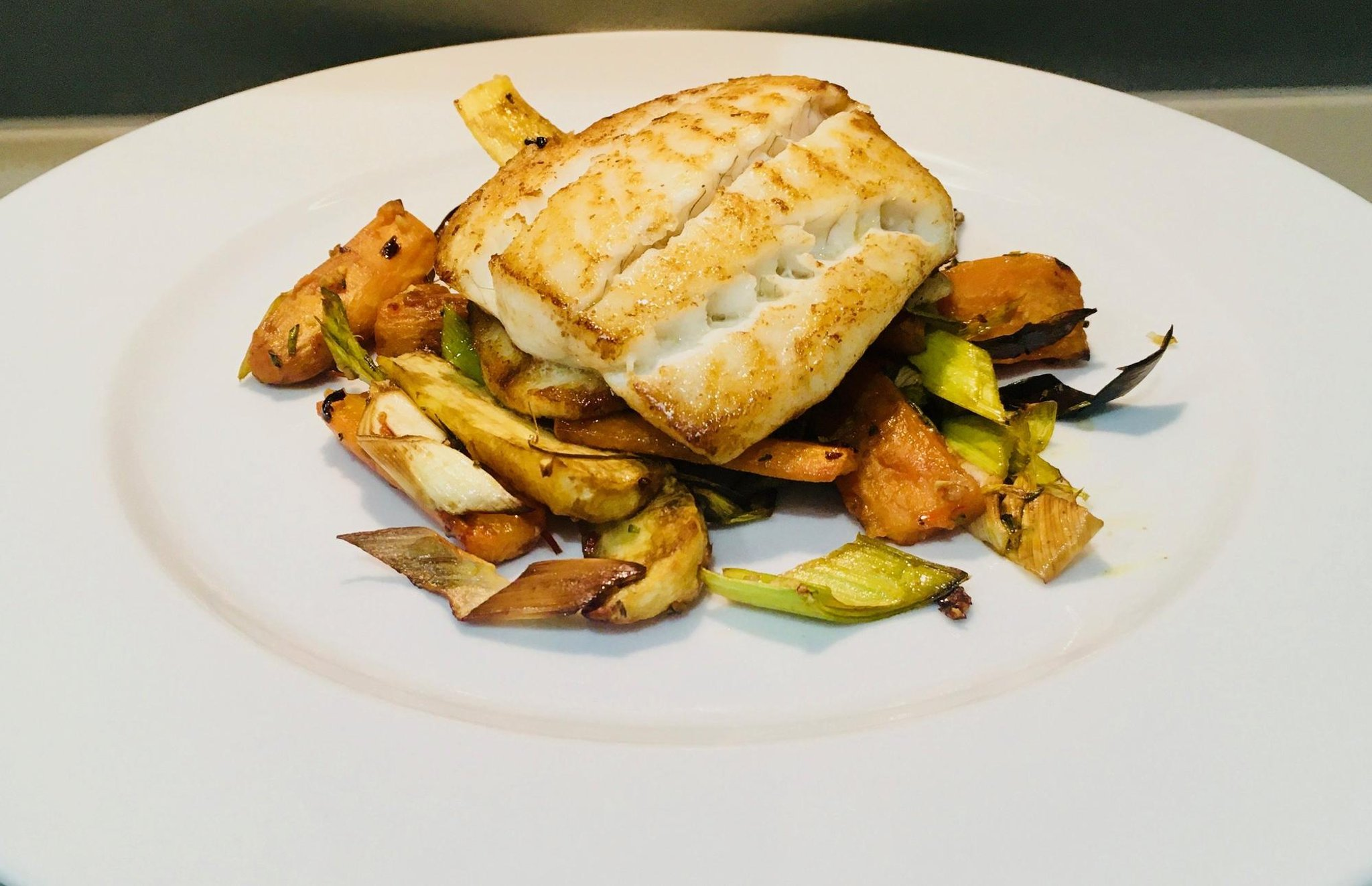 Brill Roasted Vegetables Chili Garlic Rosemary Dressing Recipes By Lawrence Murphy London News Time