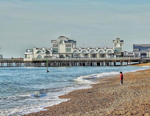 Southsea beach. Picture: Trev Harman