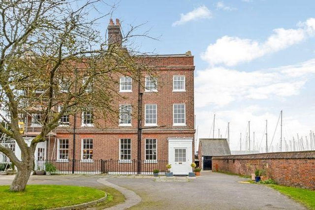 This eight bedroom Georgian townhouse in Gosport is up for sale for £770,000. It is listed by Fine and Country - call 023 9229 0571.