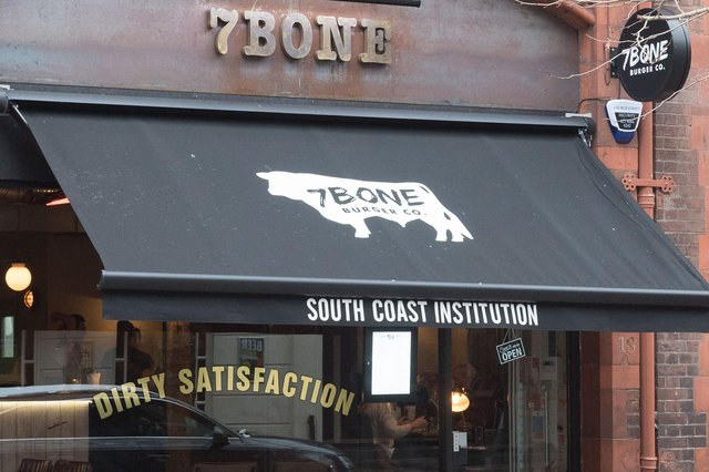 7 Bone Burger Co, Guildhall Walk, Portsmouth, was one of 202 restaurants across Portsmouth to join the Eat Out To Help Out scheme. Picture: Keith Woodland.