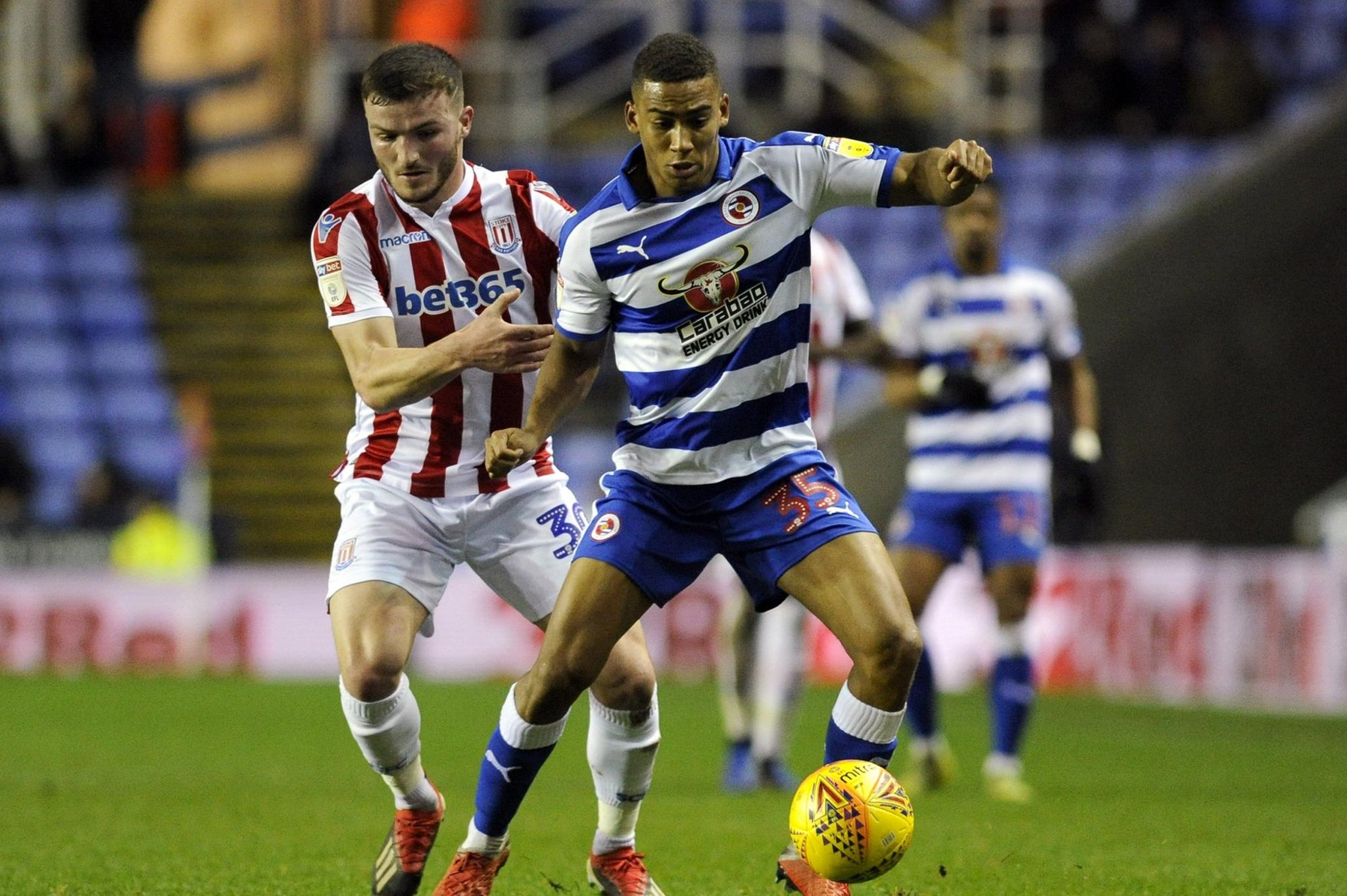 Former AFC Portchester midfielder's remarkable rise continues as he brings up Reading milestone