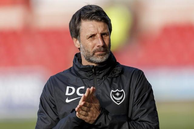 Pompey boss Danny Cowley. Picture: Daniel Chesterton/phcimages.com