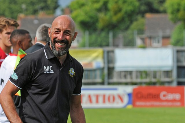 Mick Catlin has been appointed Horndean general manager. Picture Ian Hargreaves (160984-7)