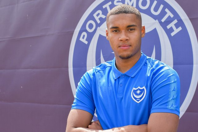 Gavin Bazunu has joined Pompey on a season-long loan from Manchester City.  Picture: Portsmouth FC