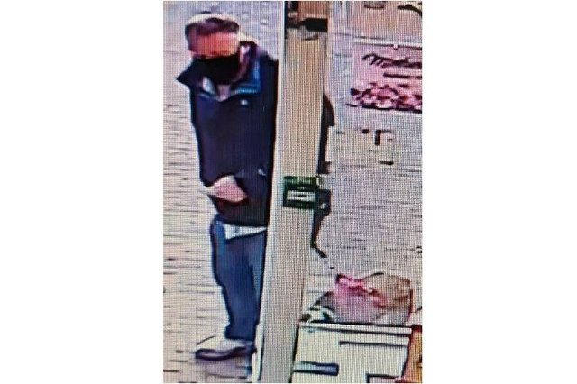 Police are looking for this man believed to be the owner of a dog that attacked a young girl in Copnor. Photo: Hampshire Constabulary